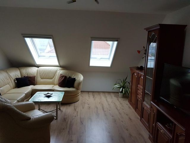 Wohn- und Essbereich, Sitzecke und Schlafchouch