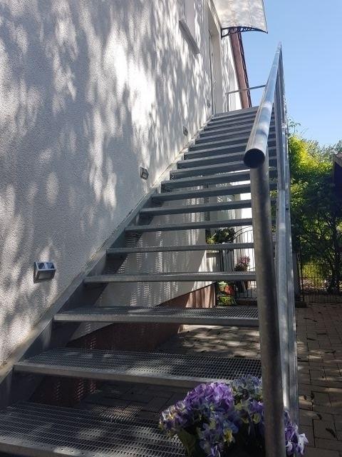 Treppe  zur Ferienwohnung II