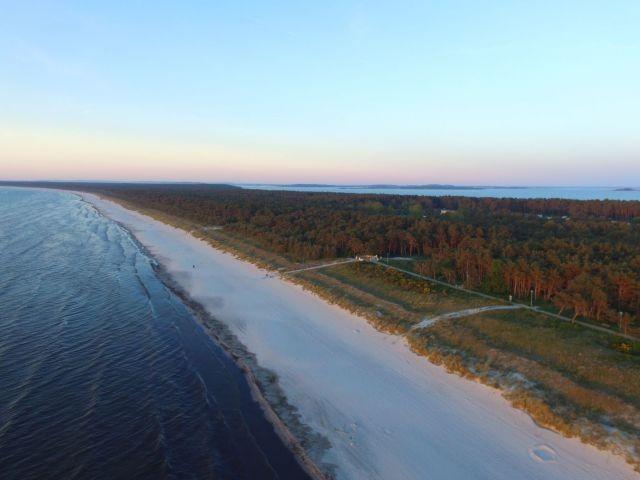 Strand Richtung Glowe