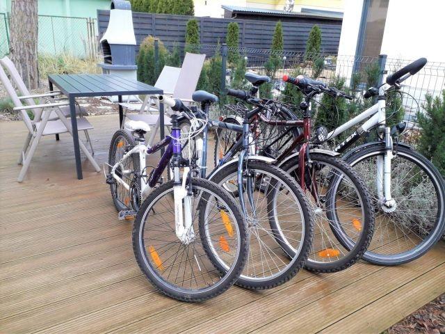 Fahrräder für unsere Gäste