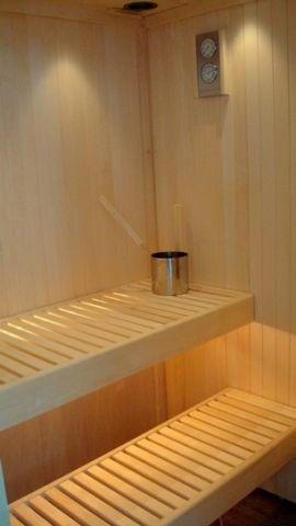 Sauna im grossen Badezimmer