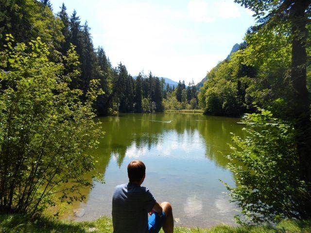 Natursee, 300 m vom Haus entfernt