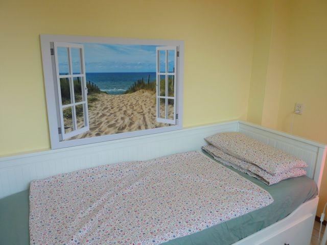 Schlafzimmer im EG Einzelbett