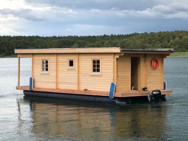 Heck - Hausboot D10 Komfort