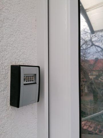 Schlüsseltresor an der Haustür