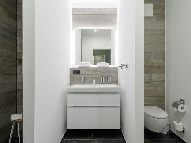 Fußbodenheizung im Badezimmer