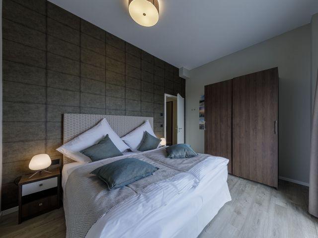 Modernes Design im Schlafzimmer