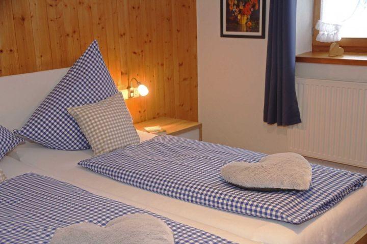 die Betten sind bereits bezogen...
