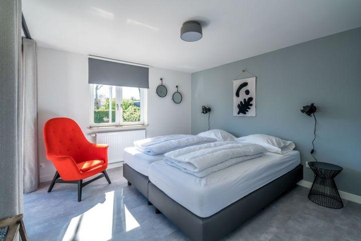 Schlafzimmer 1 mit 2 Einzel Boxspringbetten (90x220)