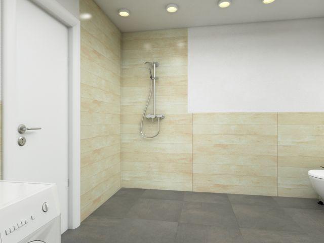 Ebenerdige Dusche im Badezimmer