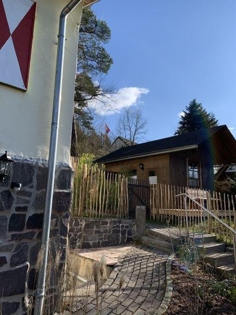 Gartensauna Kleines Jagdhaus