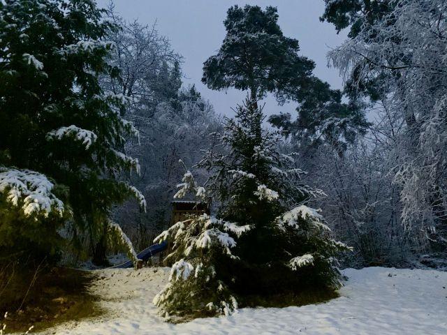 Winter im Kleines Jagdhaus