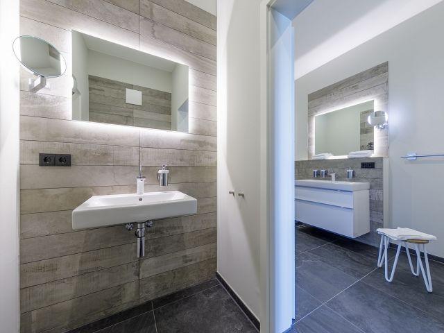 Gäste-WC und Vollbad