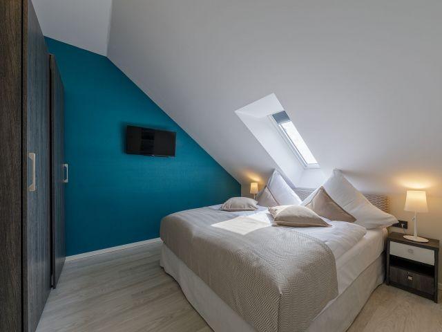 Schlafzimmer im Strandhausstil