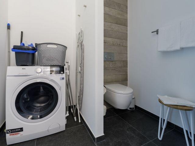 Waschtrockner zur freien Verfügung