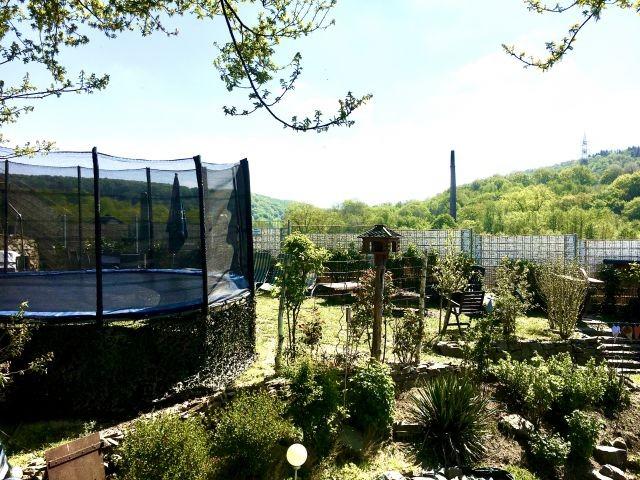 Garten mit Traum Aussicht ins Grüne