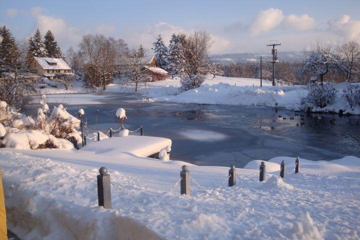 Auch im Winter macht Urlaub im Ferienhaus Spass