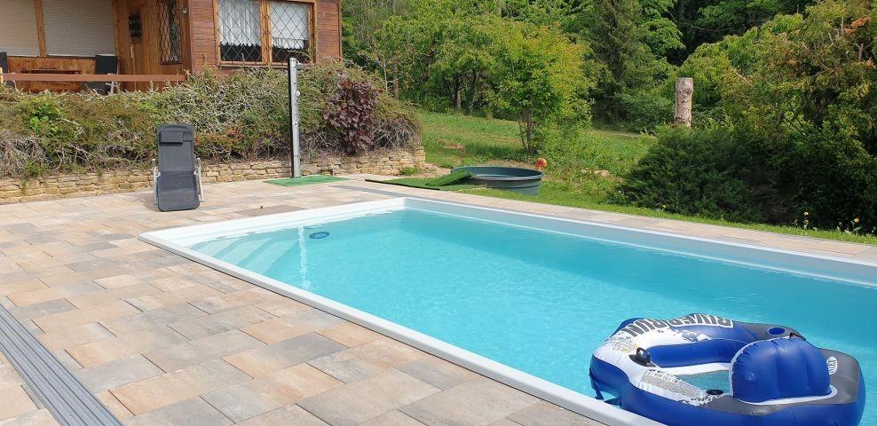 Pool, (4 x 7,50 x 1,50 m), beheizt, Gegenstromanlage