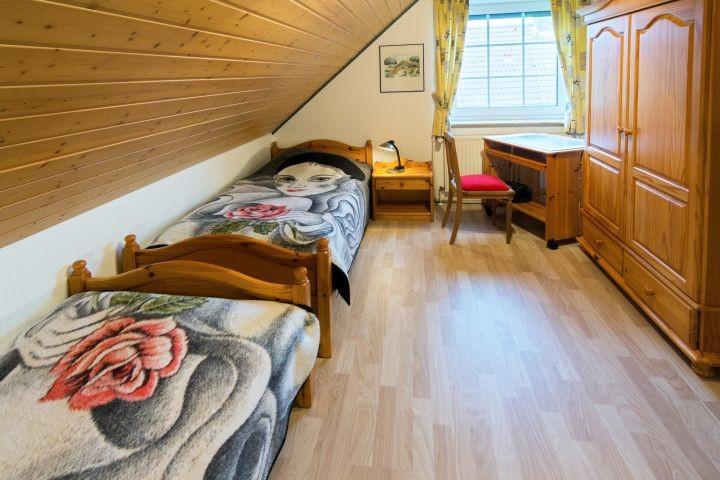 2 Einzelbetten oben