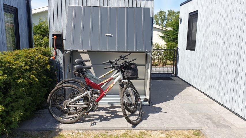 2 Fahrräder können gerne kostenlos genutzt werden