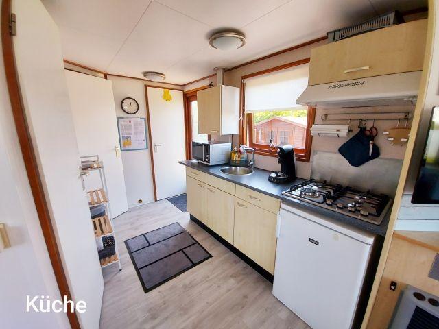 Küche für 6 Pers. ausgestattet