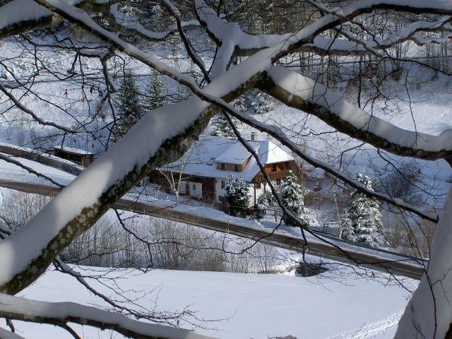 Eichehüsli im Winter