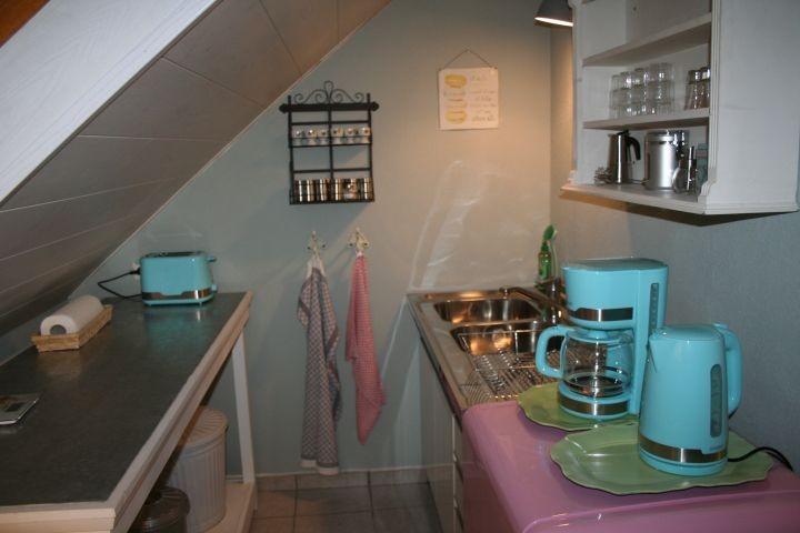 Arbeitsfläche Küche und Spüle