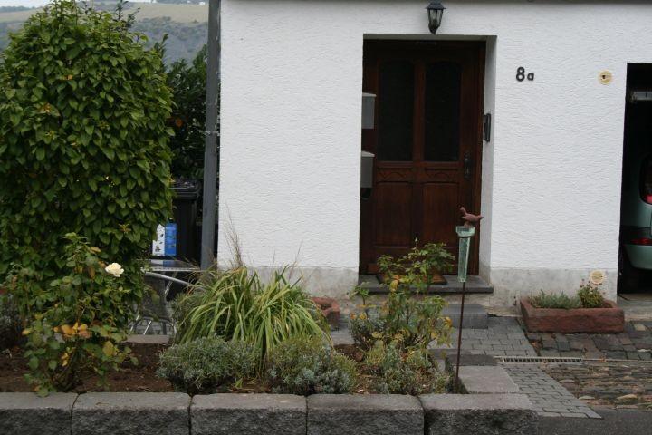 Eingang ins Haus