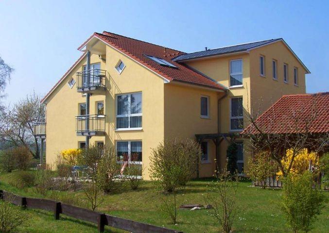 Die Appartementanlage Godewind im Grünen gelegen