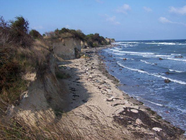 Wide Romantik an der Steilküste