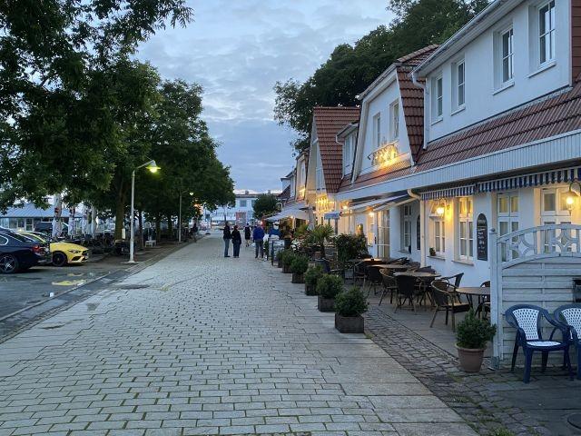 Restaurants an der Promenade