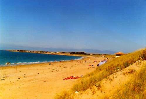 Strand Les Dunes