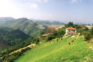 Ca Agostino Haus und Landschaft