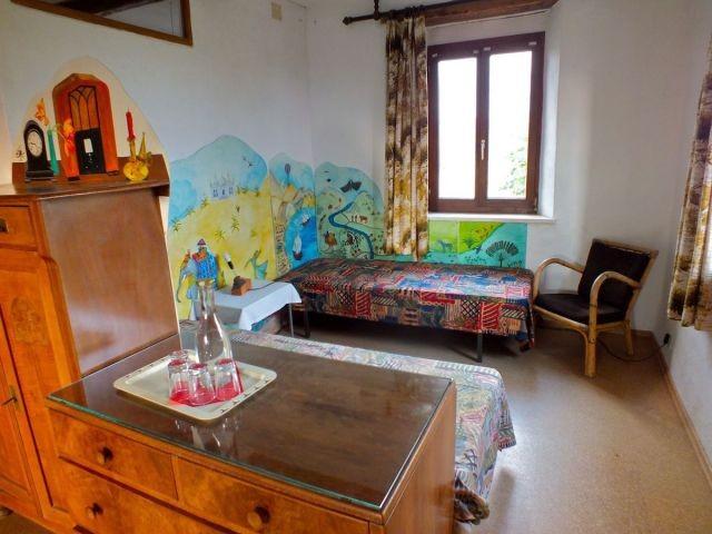 Kinderbereich im Familienzimmer