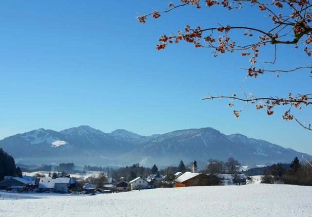 Rottach im Winter