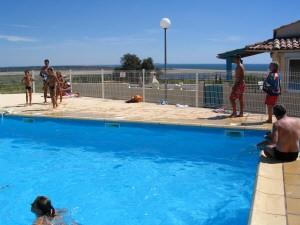Pool ca 10m entfernt
