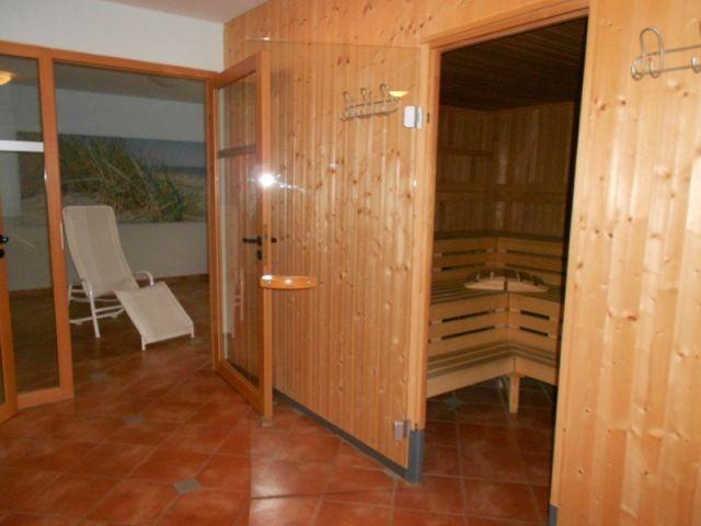 Sauna kostenlose Nutzung, Anmeldeung erforderlich