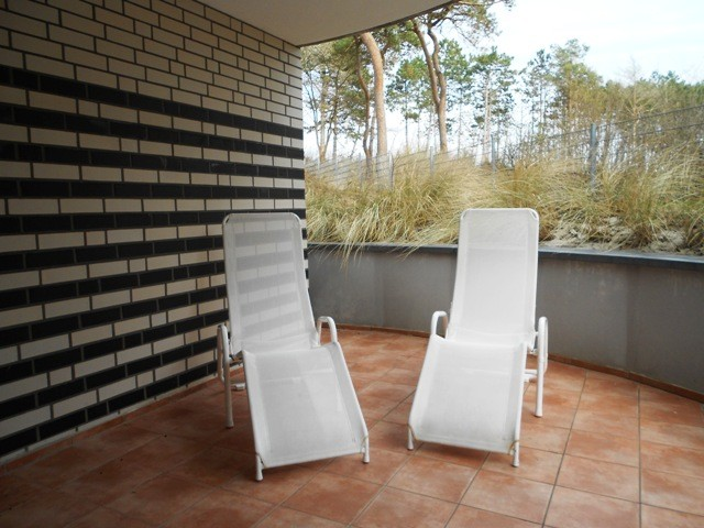 Aussenbereich Sauna