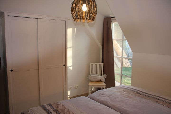 Kleines Schlafzimmer im EG