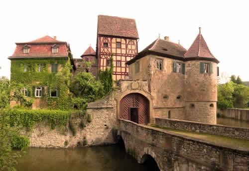Das Schloss von vorne
