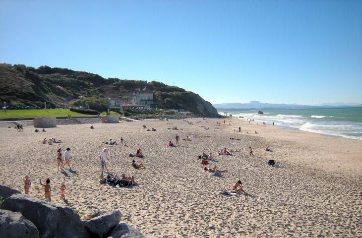 Strand bei Biarritz
