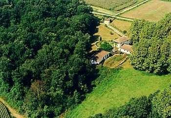 Moulin d'Ibure Luftaufnahme
