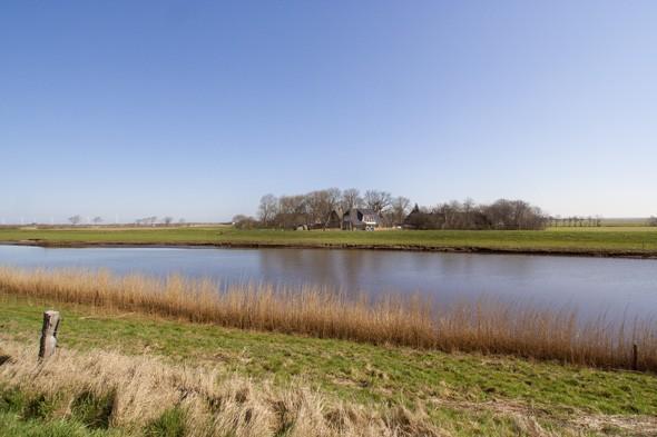 Süderwaygaard am Bongsieler Kanal