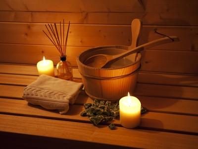 Sauna in allen 8 Häusern