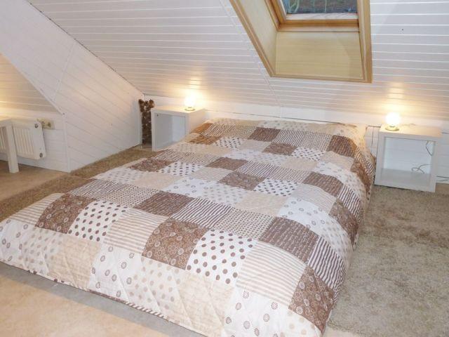 Schlafmöglichkeiten im Dachgeschoss
