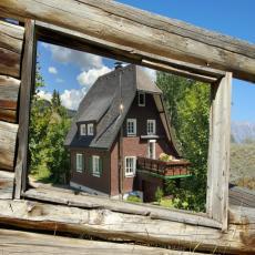 Freistehendes Ferienhaus im Schwarzwald direkt am Bach