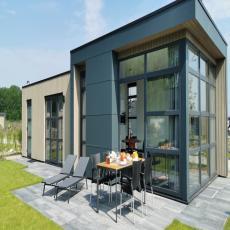Neues, komfortables Chalet mit Garten und Blick auf das IJss ...