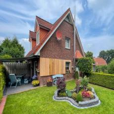 Schnieke Ferienhaushälfte mit Garten am Badesee Tannenhause ...