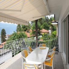 Ferienhaus in Strand-Lage für bis zu 4 Personen am Lago Mag ...
