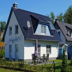 Haus Kranich auf der Insel Rügen - Kamin + Sauna